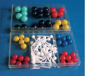 7-1864 Molecular Model Basic set